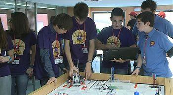 Llega a Valladolid una nueva edici�n del torneo de rob�tica First Lego League