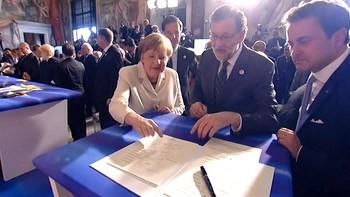 La Unión Europea celebra sus 60 años decidida a 'actuar juntos, a distintos ritmos'