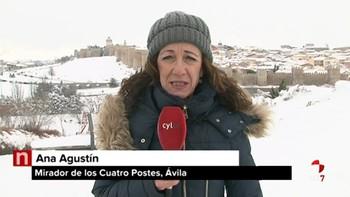 Abiertos al tránsito los recorridos principales y secundarios de Ávila capital