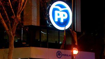 Registran la sede del PP de Madrid por sospechas de financiaci�n irregular del partido