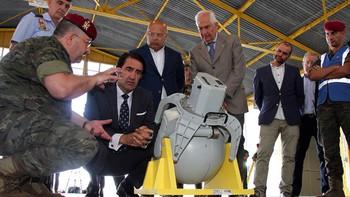 El dron de Defensa para la prevención de incendios realizó 130 horas de vuelo y redujo tres fuegos a conatos