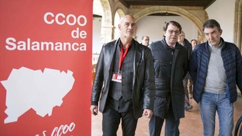 Salamanca celebra el XI Congreso de CC.OO que ve 'con optimismo' el plan de reindustrialización de Castilla y León