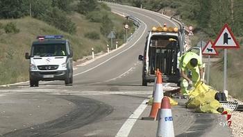 La N-234 es la carretera que concentra m�s tramos peligrosos de Burgos