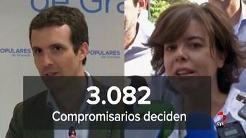 Comienza el congreso del PP con la incertidumbre de quién sustituirá a Rajoy