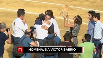 Cantalejo homenajea a V�ctor Barrio