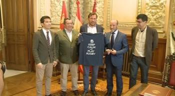 El Ayuntamiento de Valladolid anima la Final de Liga para 'consolidar los avances del rugby' de la ciudad