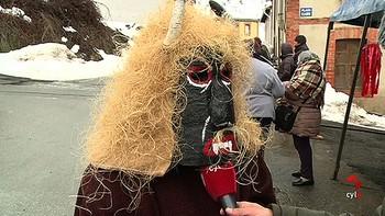 Villalfeide recupera uno de los ritos más ancestrales, la fiesta Los Caretos