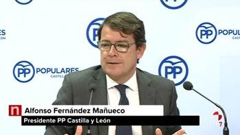 Mañueco cree que corresponde al Gobierno 'mover ficha' sobre los presupuestos para que la Junta presente los suyos
