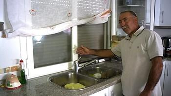 'Ernesto, aquí no tenemos agua'