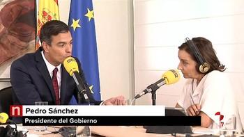 Sánchez defiende un 'referéndum' por el autogobierno para Cataluña