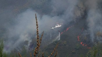 El incendio de Matalavilla sigue en nivel 1 y varios fuegos más permanecen activos en la provincial