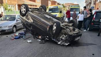 Cinco personas mueren en las carreteras de Castilla y León este fin de semana