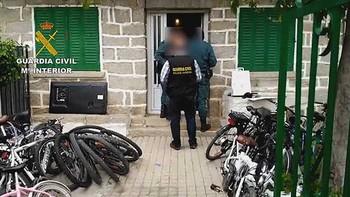 Dos detenidos por robar enseres en segundas viviendas del Alberche y Pinares por valor de 15.000 euros