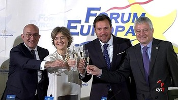 García Tejerina amadrina el Concurso Mundial de vino de Bruselas que se celebra en Valladolid