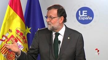 Rajoy confirma el acuerdo con el PSOE sobre el 155