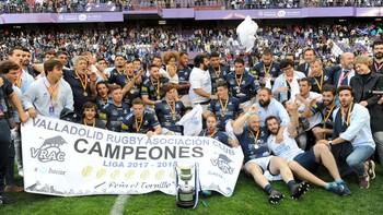 El VRAC Quesos Entrepinares, campeón de la Liga de Rugby