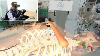 Investigadores de la USAL desarrollan un simulador virtual para operaciones de columna