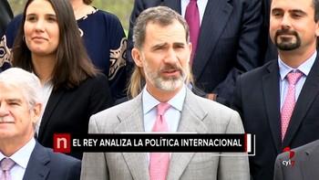 Felipe VI resalta el papel de los centros de estudios estratégicos para 'ordenar' el aumento del volumen de la información