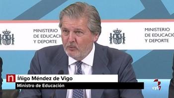 Méndez de Vigo invita a 'reflexionar' ante la brecha en el rendimiento de los alumnos por CC.AA.