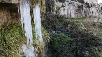 Sanabria registra hoy la temperatura mínima de la Comunidad con 9,6 grados bajo cero