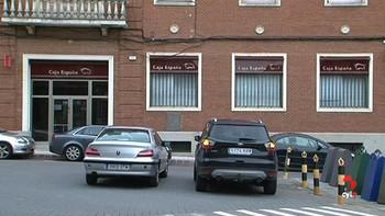 Detienen a dos hombres como posibles autores del robo de la sucursal de Caja España en Carrión, Palencia