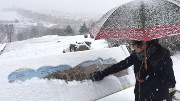 El Ayuntamiento de Ávila activa el plan de nevadas por la nieve caída esta madrugada