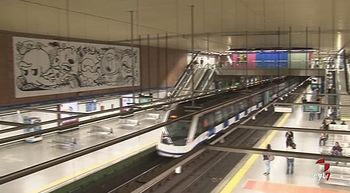 La red de Metro, lanzadera para nuevos artistas