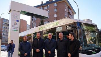 Valladolid pone en marcha la primera línea de autobús totalmente electrificada de España