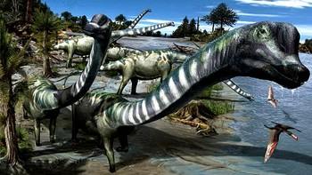 Descubierta en Salas de los Infantes una nueva especie de dinosaurio 'gigantesco'