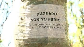Intentan matar a varios perros en Palencia enterrando salchichas con alfileres en un parque