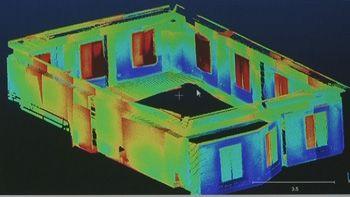 Desarrollan en Castilla y León un proyecto para auditar la eficiencia energética de las casas en 3D