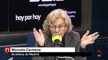Manuela Carmena trata de frenar la crisis de gobierno abierta tras destituir al concejal de Hacienda