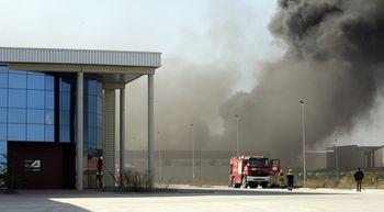 Composites Avanzados traslada tranquilidad a la plantilla tras el incendio declarado