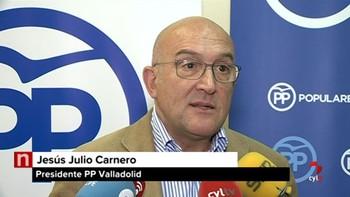 Carnero afirma que la presidenta del PP tiene que ser Sáenz de Santamaría y pide unidad e integración
