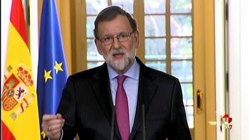 Rajoy hace un balance positivo del 2017 'a pesar' de la 'tensión' en Cataluña: 'Es un año ganado para la recuperación'