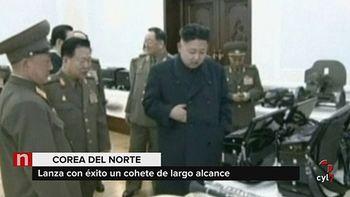 Corea del Norte ensaya con un misil bal�stico intercontinental