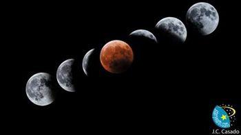 Este miércoles un eclipse abrirá las 'cuatro lunas de sangre'
