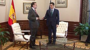 Encuentro tenso y fr�o entre S�nchez y Rajoy