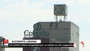 Muere un varón tras ser atropellado por un camión en una cooperativa agraria de Moraleja del Vino, Zamora