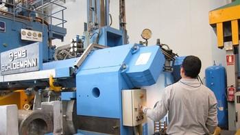 La producción industrial de Castilla y León cae en enero un 3,7%, frente al incremento nacional del 4%