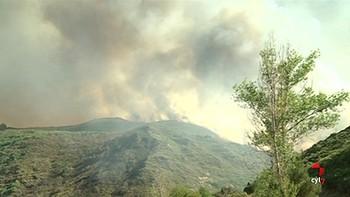 Detenido el presunto autor del incendio forestal ocurrido en La Cabrera, León, en agosto de 2017