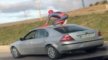 La policía de Burgos localiza al Spiderman del carnaval