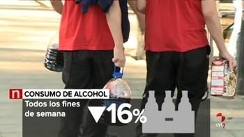 El programa 'Ícaro-alcohol' registra en 2018 en Valladolid 24 menores atendidos por consumo de alcohol