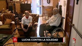 El 10% de las actuaciones de los bomberos de Valladolid en 2017 fueron para auxiliar a mayores solos en casa