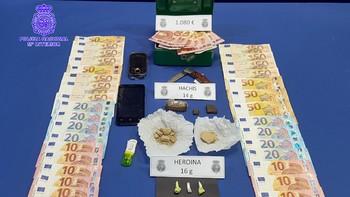 Detenido tras desmantelar un punto de venta de heroína en el barrio de La Rondilla en Valladolid