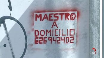 Denunciado en Salamanca un maestro por hacer 172 pintadas ofreciendo sus servicios