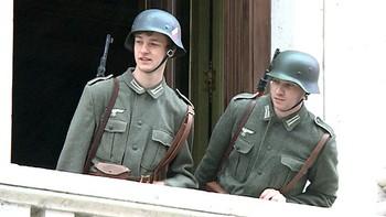 Burgos se convierte en el Metz tomado por los nazis durante el rodaje de 'Red de libertad'