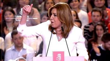 Susana Díaz anuncia su candidatura reclamando 'ayuda para volver a ganar'