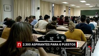 Más de 2.000 aspirantes para 6 plazas de ujier en las Cortes de Castilla y León