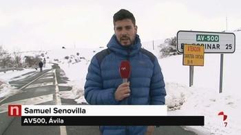 La ciudad de Ávila cuenta con todas sus calles abiertas al tráfico pero el Ayuntamiento recomienda extremar la precaución